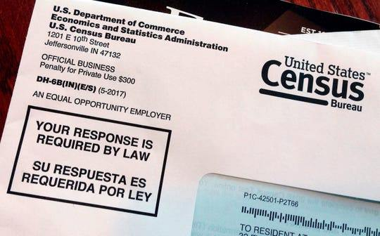 Letter from the U.S. Census coming in March of 2020