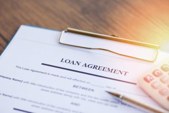 Loan application with Small Business Administration