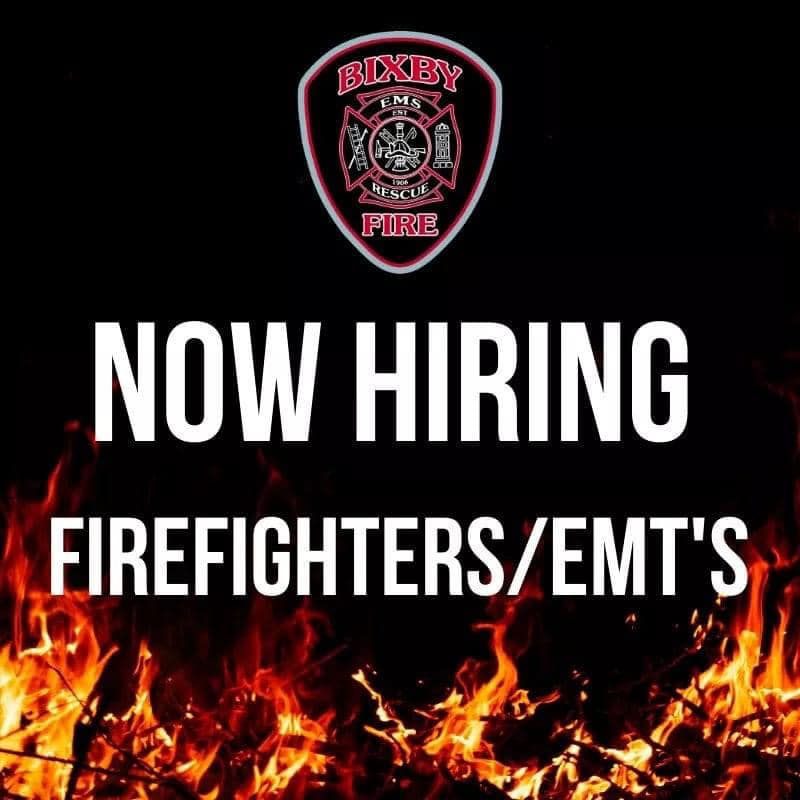Bixby Fire Department Hiring